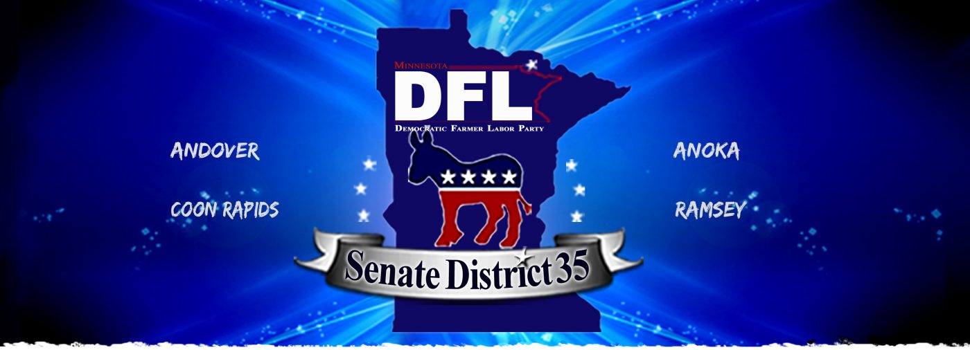 Votedemocratmn.org provides info on Anoka County politics. Find your Minnesota representatives, find out where to vote in Anoka, Andover, Coon Rapids and Ramsey. Get involved with the Minnesota Democratic Party in our area!